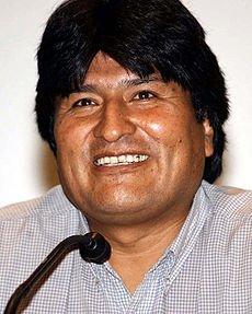 Lettre d'Evo Morales dans Instants, histoires de vies 230pxmorales2006011302